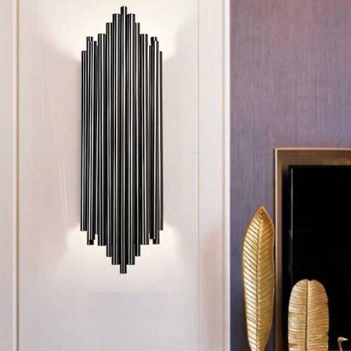 Wall Lamp - 10046W Black