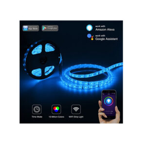 5 Meter Smart/Wifi LED Strip Multi Color