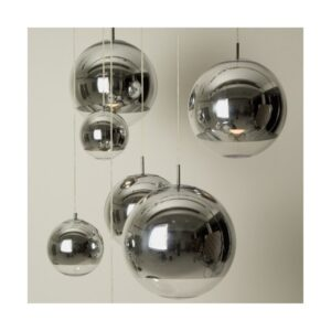 Pendant Lamp- 8041P/Silver 350mm