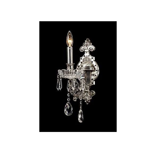 Wall Chandelier Silver with Black - AT07S-1